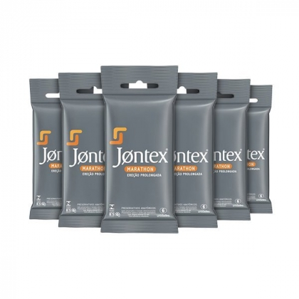 Kit Preservativo Jontex Marathon