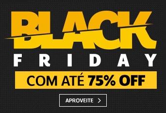 BLACK FRIDAY - Frete Grátis + 75% OFF na Netshoes