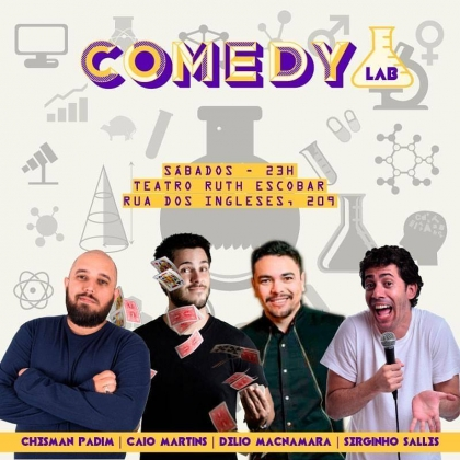 Stand up Comedy Lab com 70% de desconto