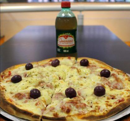 Compre uma Pizza Tenda Paulista e GANHE um Guaraná 600ml!