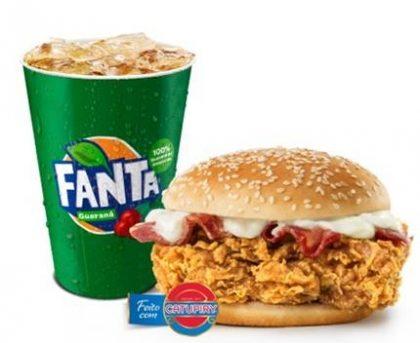 Sanduíche Catupiry Prime Bacon + Fanta Guaraná 500ml por R$ 9,00
