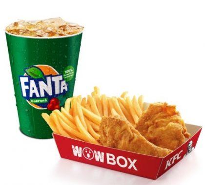 Wow Box 2 pedaços + Fanta Guaraná 500ml por R$ 11,00