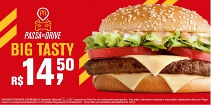 Drive-Thru: Big Tasty R$14,50