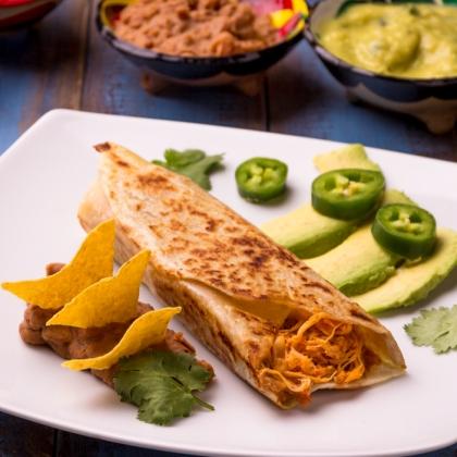Combo Madruga (Burrito + Refrigerante lata) por R$ 20,90!