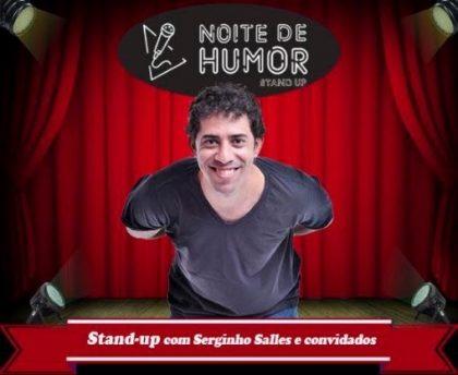 """Espetáculo """"Noite de Humor"""" por apenas R$ 15,00!"""