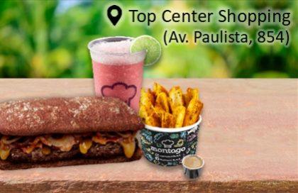 COMBO:CheddarPrime Bacon + Batata Boat + Pink Lemonade por R$ 19,90