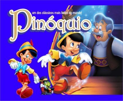 Espetáculo Pinóquio por apenas R$24,90