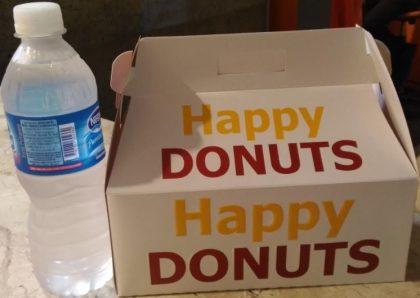 CENTER 3: 6 Donuts + 1 Garrafa de água (500ml) por apenas R$34,00!