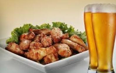 2 Cervejas (Original ou Skol, 600ml) + 1 Porção de Frango a Passarinho por apenas R$ 31,80