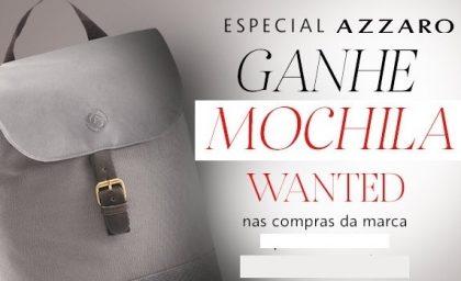 Cupom: Ganhe uma mochila Azzaro no site da Sephora!