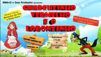 CHAPEUZINHO VERMELHO E O LOBONZINHO com 60% de desconto