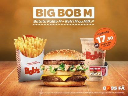 Trio Big Bob M por apenas R$17,50