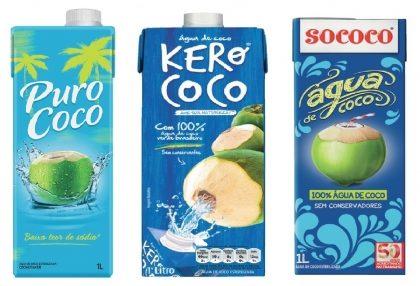 Águas de Coco com 30% de desconto!