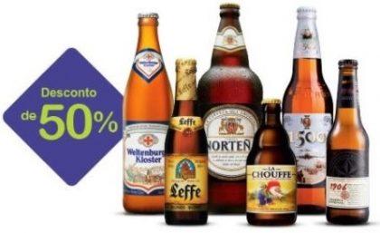 (27/4) Todas as Cervejas Especiais com 50% de desconto! [18+]