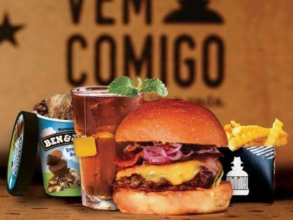 Combo R$40: Qualquer Hambúrguer* + Batata McCain + Drink de Chá Lipton + Sorvete Ben & Jerry's