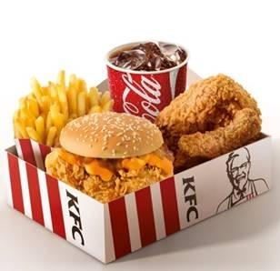 Big Box KFC Cheddar Melt por R$ 19,90