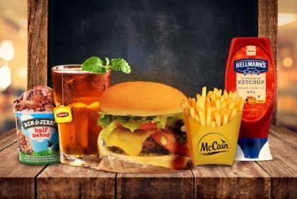 Combo R$40: Burger SUPREME + Drink de Chá Lipton + Batata McCain + Sorvete Ben & Jerry's
