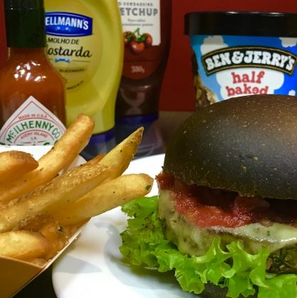 Combo R$40: Mr. Veggie + Chá Lipton Frutas Vermelhas + Batata McCain + Ben & Jerry's