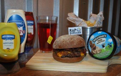 Combo R$40: Burger Kendrick Lamar + Drink de Chá Lipton + Batata McCain + Sorvete Ben & Jerry's