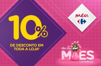 (11/5) HIPER E BAIRRO: 10% de desconto em TODA A LOJA* nas compras acima de R$100