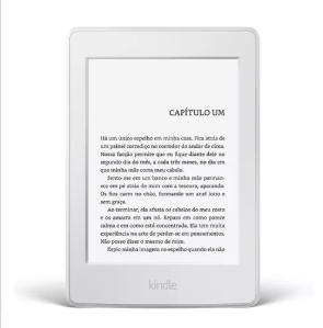 Cupom: Kindle Paperwhite Branco e Preto por R$ 379 no site da C&A!