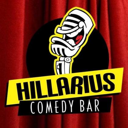 43% OFF em todos os shows no Hillarius Comedy Bar!