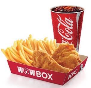 Wow Box 2 pedaços + Refri 500ml por R$ 11,90