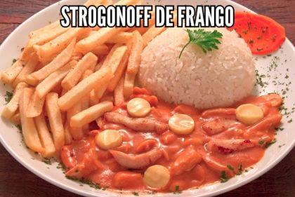 Strogonoff de Frango + Arroz + Fritas por apenas R$15,90 (Eldorado)