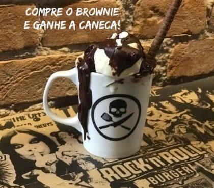 Brownie com Sorvete na Caneca por apenas R$27,90!
