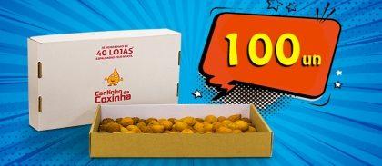 (Delivery) 100 salgados variados por R$34,99!