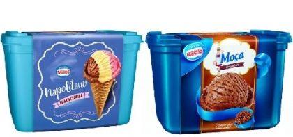 Sorvete Nestlé 1,5L por apenas R$ 10,90!