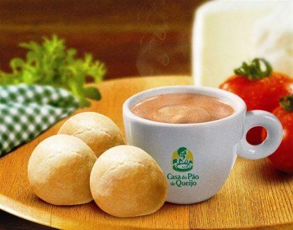 (Shopping Nações Unidas) 2 Pães de Queijo + Café Espresso por R$ 12,60