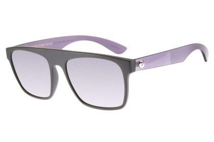 50% OFF: Óculos de Sol Modelo Fosco com Haste Metal por R$149,99!