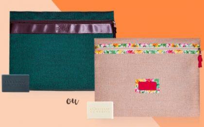 Cupom: Nas compras acima de R$70 GANHE uma Capa de Notebook + Sabonete