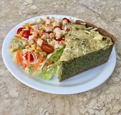 (Shopping Nações Unidas) Ganhe 1 Suco Natural de Laranja na compra de 1 Torta Integral de Frango ou de Brócolis