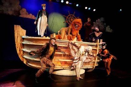 20% de desconto na peça A Arca de Noé com o cupom VilaMundo!