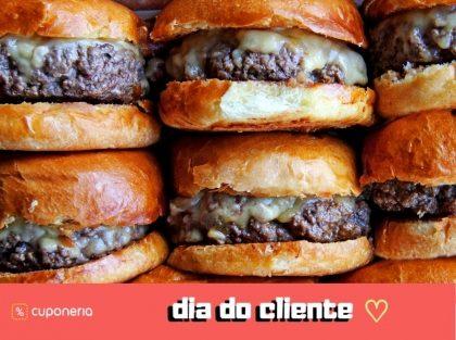 (Chácara Flora) 15/9: Cheeseburger GRÁTIS!