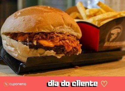 (DIA DO CLIENTE) A partir do dia 15/9: Compre 2 Burger Crispy por apenas R$11 cada!