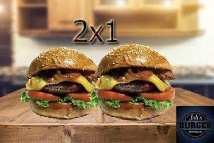 GANHE 1 Burger na compra de outro igual! Escolha queijos e 3 acompanhamentos!