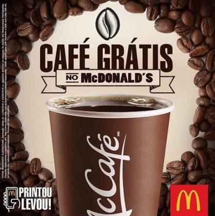 Ganhe café no McDonald's! Clique e veja como