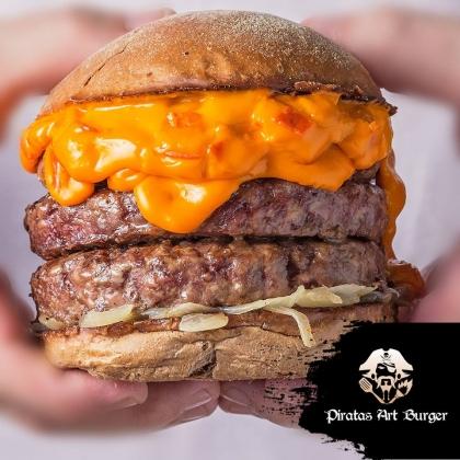 (DELIVERY) GANHE um Burger Cheese Marujo na compra de um Barba Negra