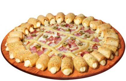 Pizza Cheesy Pop qualquer sabor com 30% de desconto!