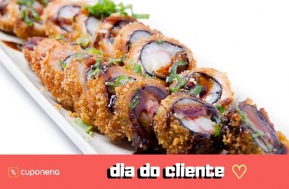 (DIA DO CLIENTE) A partir do dia 15/9: Hot Roll por R$15!