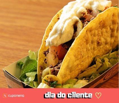 (DIA DO CLIENTE) A partir do dia 15/9: Compre qualquer Taco Salgado e leve outro GRÁTIS!