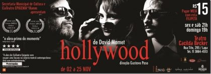 "Espetáculo ""Hollywood,"" por R$ 14,90!"
