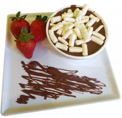 (Shopping Light) Fondue de Frutas com Marshmallow e Chocolate por R$ 13,90