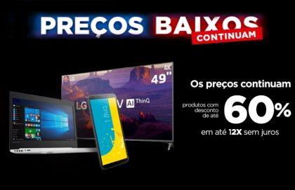 Black Week: Até 60% OFF + Cupom 10% OFF na Casas Bahia!