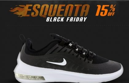 Esquenta Black Friday: Cupom de 15% OFF + 10% OFF no site da Centauro!*