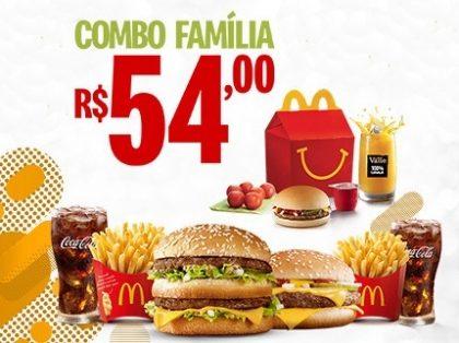 Combo Família R$ 54,00