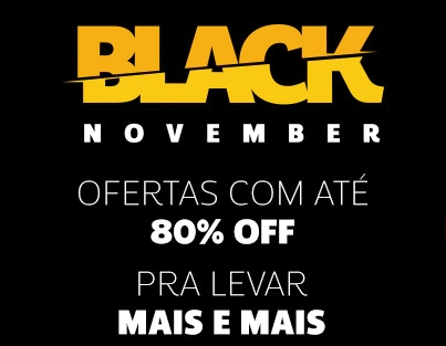 Black November Netshoes: Até 80% OFF!